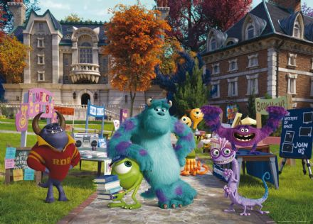 Disney Monster's University mural wallpaper 160x110cm